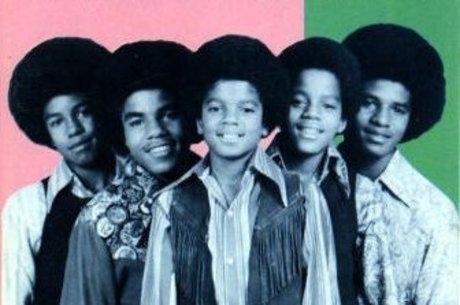 Visita dos Jackson Five com o caçula Michael Jackson