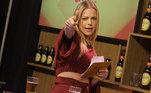 A apresentadora Jacky Petkovic pronta para mais um Trilha de Sexta