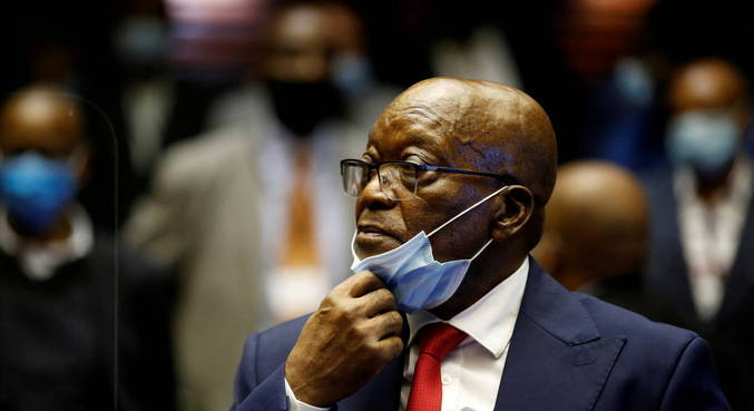 Ex-presidente sul-africano é condenado à prisão por desacato à Justiça