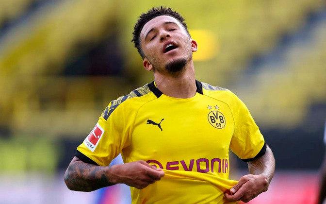 Jadon Sancho: O jogador do Borussia Dortmund é apontado como uma das revelações de 2020. Com apenas 20 anos, Sancho tem um valor de mercado que gira em torno dos 100 milhões de euros, o equivalente a R$ 635 milhões.