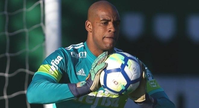 Jaílson será o titular do Palmeiras contra o América-MG