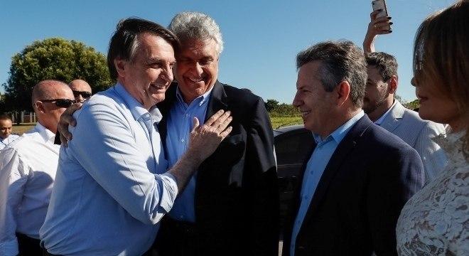 Jair Bolsonaro no lançamento do projeto Juntos pelo Araguaia