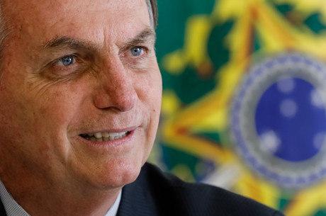 Bolsonaro usou o Twitter para citar transparência