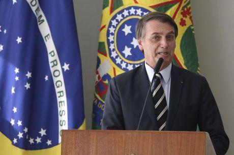 Presidente Jair Bolsonaro publica nas redes sociais