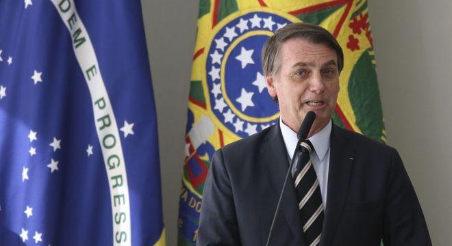 Jair Bolsonaro falou sobre o encontro no Twitter