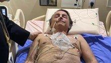 """Bolsonaro compartilha foto no hospital: """"Mais um desafio"""""""
