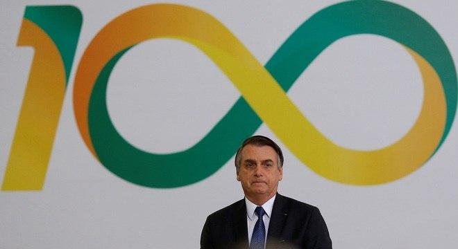 """Bolsonaro disse ver um """"céu de brigadeiro"""" no horizonte"""