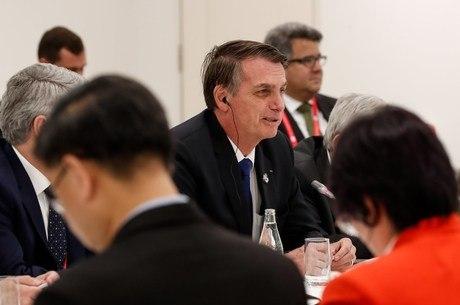 Bolsonaro participou de cerimônia no Palácio da Alvorada