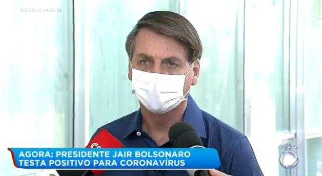 Resultado de teste de Bolsonaro dá positivo para covid-19 ...