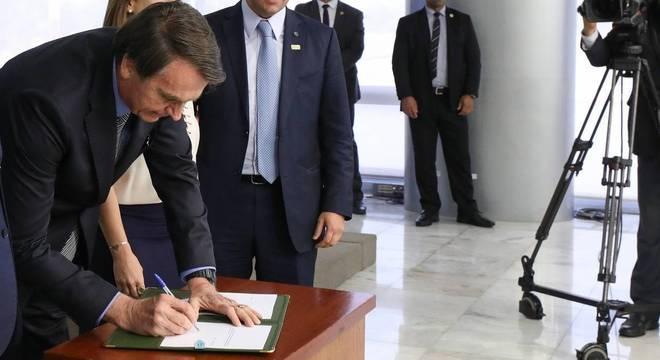 Jair Bolsonaro impôs vetos ao texto da MP enviado pela Câmara