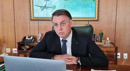 Bolsonaro diz que se surpreendeu com arrecadação