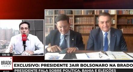 Jair Bolsonaro diz que esquerda rouba suas obras