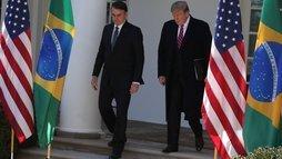 O que avançou e o que ficou faltando na viagem de Bolsonaro aos EUA? ()