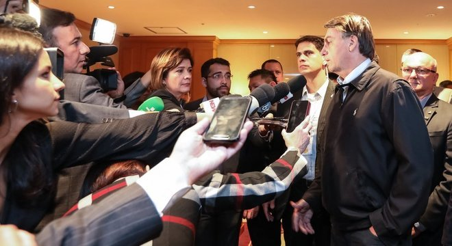 Bolsonaro em passagem pelo Japão durante viagem de duas semanas pela Ásia