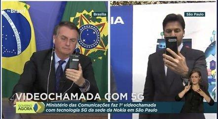 Primeira ligação com tecnologia 5G no Brasil