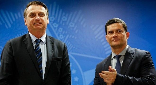 Campanha foi lançada em cerimônia com a presença de Bolsonaro e Moro