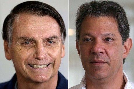 Bolsonaro e Haddad disputam o cargo em 28/10