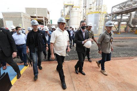 Bolsonaro participou de evento no interior de SP