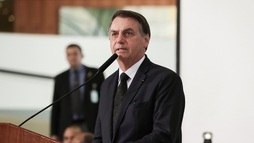 Presidente Bolsonaro defende prisão perpétua ao falar de morte de menino (Marcos Corrêa/PR - 18.06.2019)