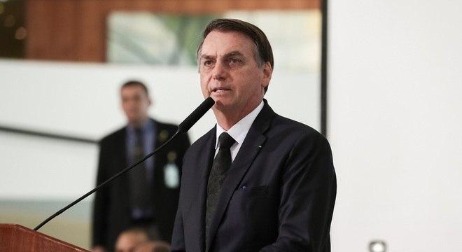 Texto assinado por Jair Bolsonaro veio com alguns vetos