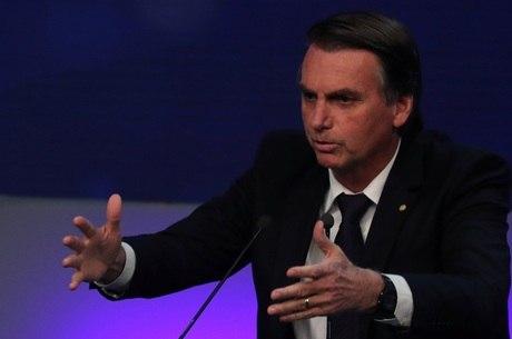 Jair Bolsonaro em campanha à presidência