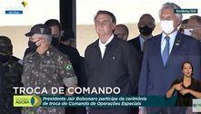 Liberdade será mantida a qualquer preço, diz Bolsonaro em ato militar