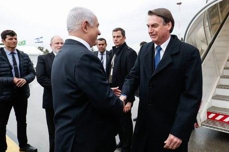 Bolsonaro chamou premiê israelense de irmão