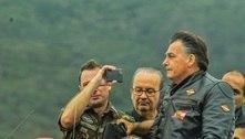 Bolsonaro comemora e agradece apoio após motociata em SC
