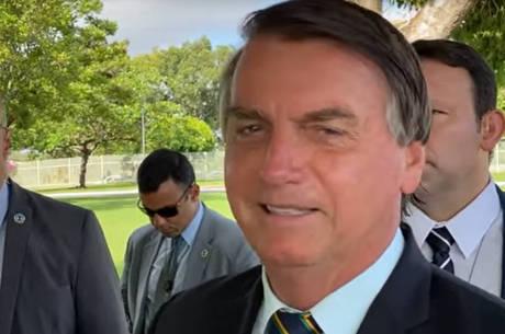 Jair Bolsonaro não fala sobre eleição nos EUA