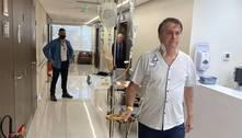 Com perspectiva de alta, médicos mudam dieta de Bolsonaro