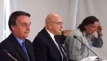 Vídeos mostram Bolsonaro sendo aconselhado por ministério paralelo