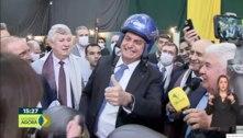 Em evento no RS, Bolsonaro volta a dizer que quer 'eleições limpas'