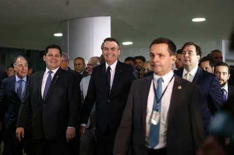 Bolsonaro apresentou texto da Previdência no Congresso
