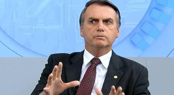 Jair Bolsonaro, candidato do PSL à Presidência