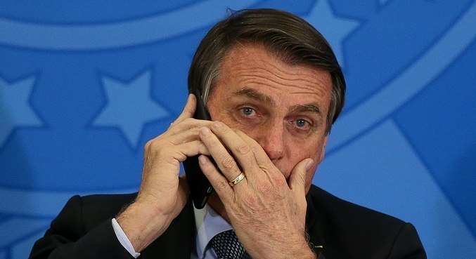Bolsonaro teve conversa telefônica gravada e divulgada por Jorge Kajuru