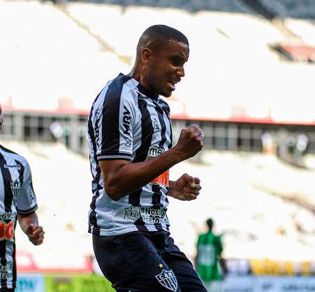 Jair - Volante - Atlético-MG - Valor segundo o Transfermarkt: 2,5 milhões de euros (aproximadamente R$ 15,68 milhões)