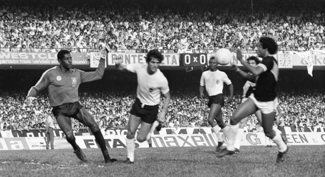 Jairo foi goleiro do Corinthians no título do Paulista de 1977