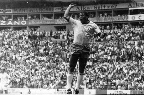 Jairzinho fez gol em todos os jogos da Copa