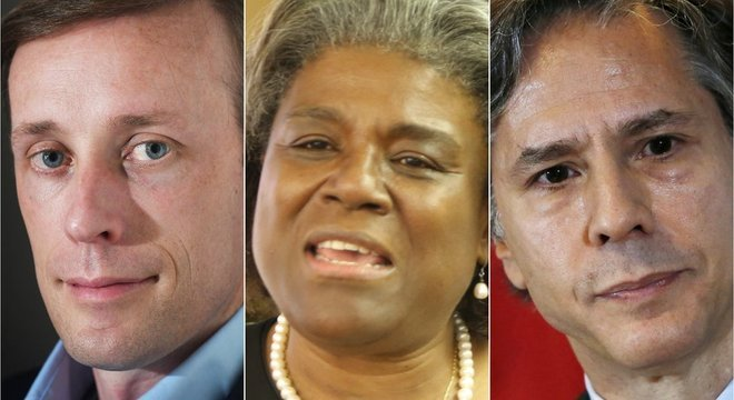 Jake Sullivan, Linda Thomas-Greenfield e Antony Blinken figuram entre nomes da equipe de Biden.