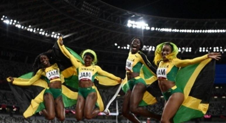 Jamaica - revezamento 4x100m feminino