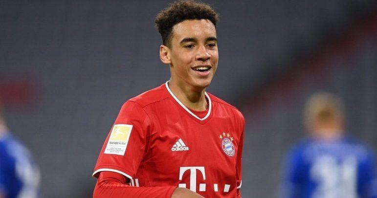 Jamal Musiala (18 anos) - Posição: meia - Clube: Bayern de Munique.