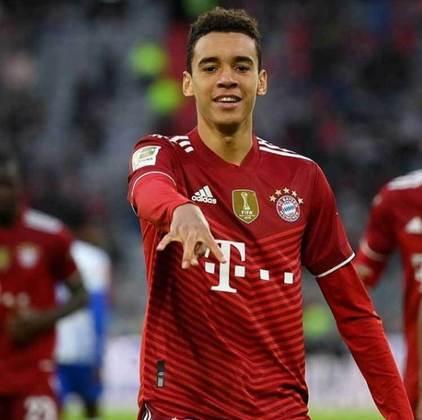 Jamal Musiala: Bayern de Munique - 18 anos - meio-campista
