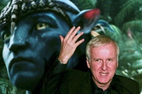 James Cameron durante lançamento de 'Avatar' em SP