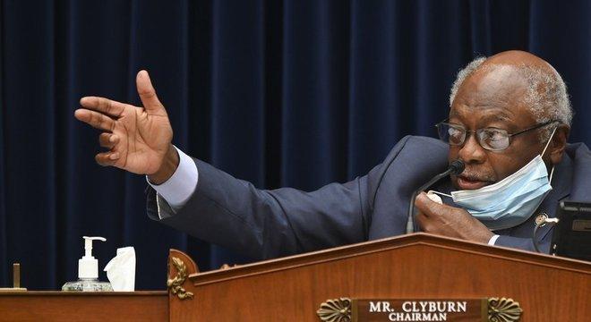 Clyburn é um dos parlamentares responsáveis pela coordenação da agenda democrata