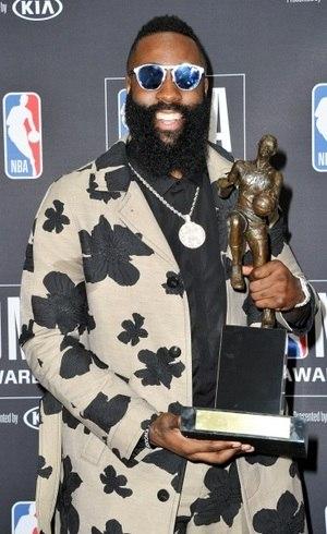 3e2ac6a6c24e James Harden desbanca LeBron e conquista prêmio de MVP da NBA ...