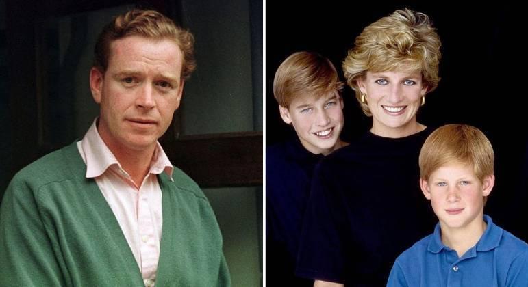 James Hewitt e Lady Di tiveram um affair enquanto ela era casada com príncipe Charles