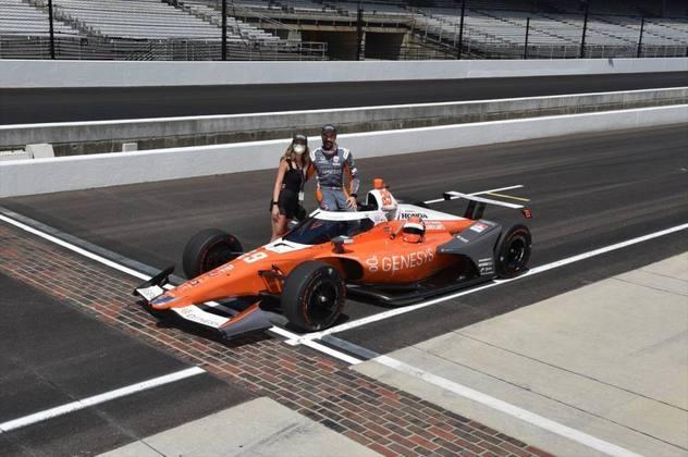 James Hinchcliffe, #29, da Andretti, é o sexto