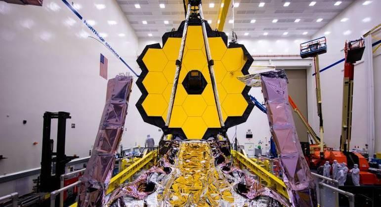 James Webb será lançado ao espaço no dia 31 de outubro