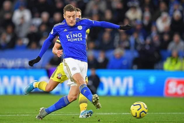 Jamie Vardy - O Leicester já viu Vardy anotar 19 gols e somar 38 pontos.