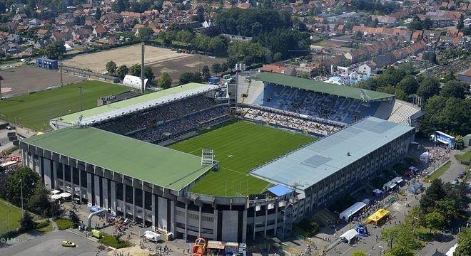 O Jan Breydel, estádio do Brugge